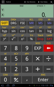 realcalc apparance