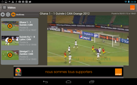 CAN 2013 videos des buts
