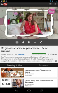 Ma Grossesse  video