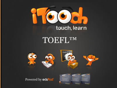 iTooch TOEFL Preparation iPad 1